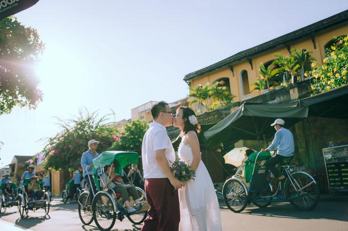 Ảnh cưới lãng mạn của cô dâu Việt và chú rể Malaysia