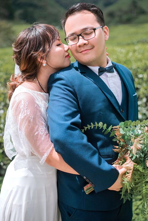 Ảnh cưới lãng mạn của cô dâu Việt và chú rể Malaysia - 1