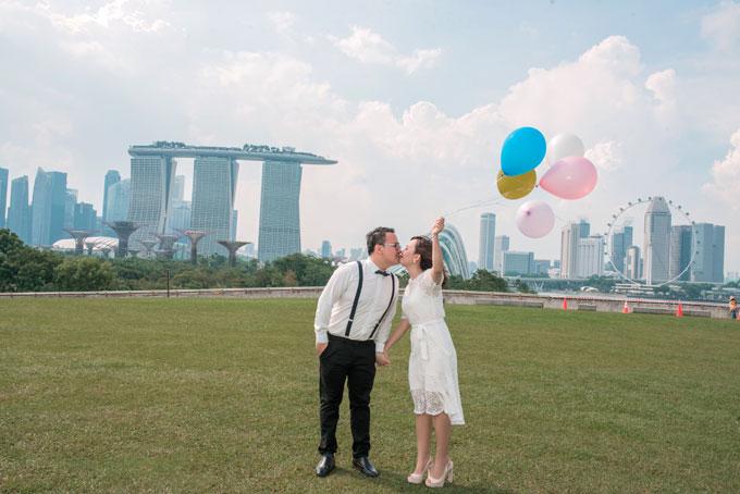 Ảnh cưới lãng mạn của cô dâu Việt và chú rể Malaysia - 6