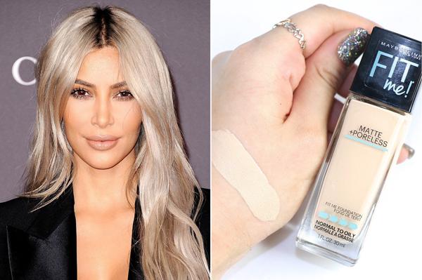 Kim Kardashian hết lời ca ngợi sản phẩm kem nền của Maybelline. Cô thích khả năng làm đều màu da và giữ lớp trang điểm lâu trôi của sản phẩm này. Đặc biệt, mức giá hạt dẻ, chỉ 180.000 đồng cũng là một yếu tố được đánh giá cao.