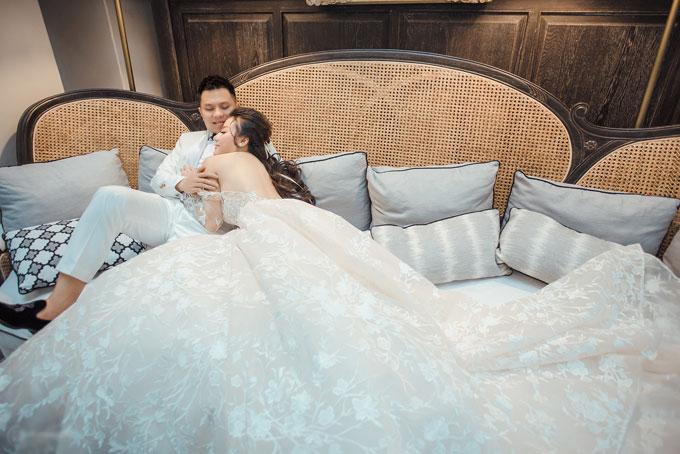 Để chuẩn bị cho đám cưới, Huyền Dung và Công Đức đã mất tới 6 tháng để hoàn tất mọi việc.