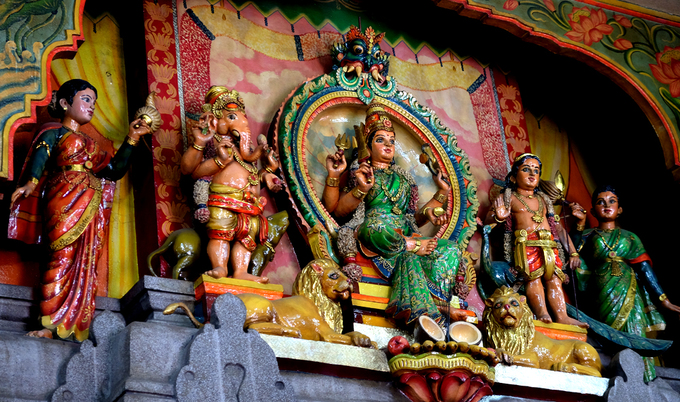 Ngôi đền Ấn Độ hơn trăm tuổi giữa lòng Sài Gòn