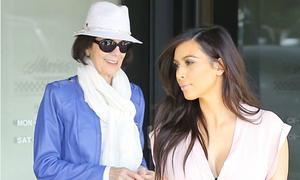 Bà ngoại trẻ trung, sành điệu của Kim Kardashian