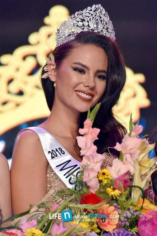 Người mẫu 24 tuổi đăng quang Hoa hậu Hoàn vũ Philippines 2018