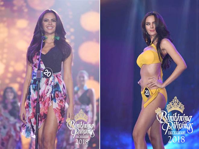 Trước đó, năm 2016, cô gái từng lọt vào top 5 Hoa hậu và giành danh hiệu Hoa hậu Thế giới Philippines. Với chiến thắng của mình, cô sẽ đại diện cho Philippines tham gia cuộc thi Hoa hậu Hoàn vũ Thế giới 2018. Ngoài ngôi vị Hoa hậu, cô còn giành nhiều danh hiệu khác như Trang phục bikini đẹp nhất, Đầm dạ hội đẹp nhất, trang phục truyền thống đẹp nhất...