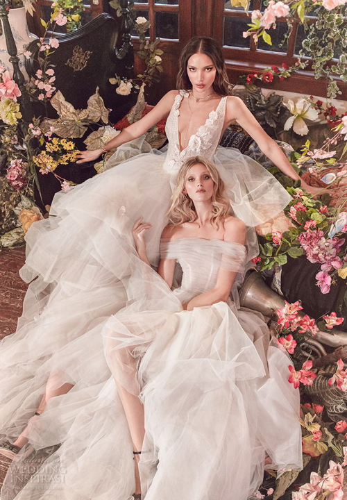 Niềm đam mê những vẻ đẹp tự nhiên và trí tưởng tượng đã thách thức Galia Lahav khám phá sâu hơn về thế giới của mùi hương hoa cỏ. Đó cũng là nguồn cảm hứng vô tận cho sự ra đời của bộ sưu tập váy cưới 2018 từnhà thiết kế này.
