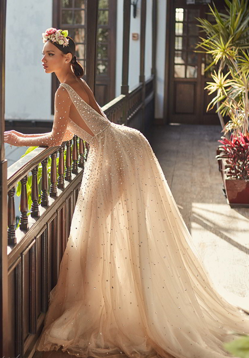 Những mẫu váy thuộc bộ sưu tậpFlorence by Night của Galia Lahav.