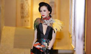 Á hậu Ngọc Quỳnh ngồi 'ghế nóng' cuộc thi nhan sắc