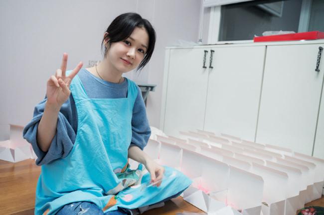 Làm bánh là một trong những thú vui Jang Nara đặc biệt yêu thích, đặc biệt là những lúc rảnh rỗi.