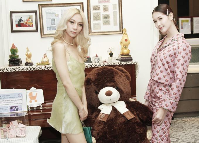 Người đẹp Thái từng đăng quang Á hậu 1 cuộc thi Miss Tiffanys Universe 2017. Cô rất nổi tiếng và đắt show quảng cáo tại Thái Lan. Stylist Tường Danh cũng là một người chuyển giới ở Việt Nam. Cô rất hâm mộ nhansắc của mỹ nhân người Thái.