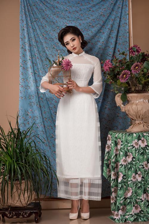 Những thiết kế này đặc biệt phù hợp với những cô đau có chiều cao khiêm tốn, không tạo cảm giác bị lọt thỏm trong quần áo.