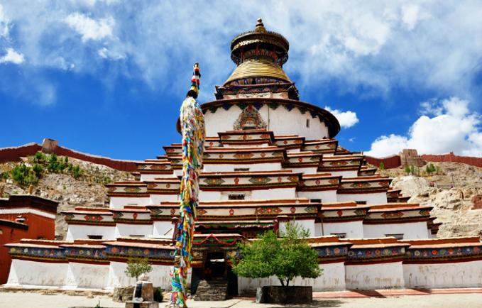 Tu viện Kumbum của người Tạng.