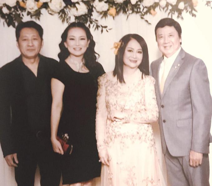 Từ nhiều năm nay, vợ chồng Bảo Quốc sống tại Mỹ và thi thoảng mới về nước. Cả hai có 4 người con, trong đó 2 người ở Mỹ, còn 2 người ở Việt Nam.