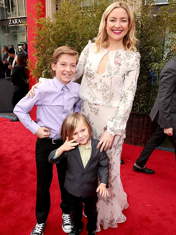 Kate Hudson hiện là mẹ của hai con trai. Ảnh: Celebrity Babies and Kids.