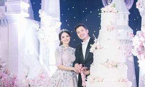 Đám cưới cổ tích của nữ diễn viên Malaysia hơn chồng 7 tuổi