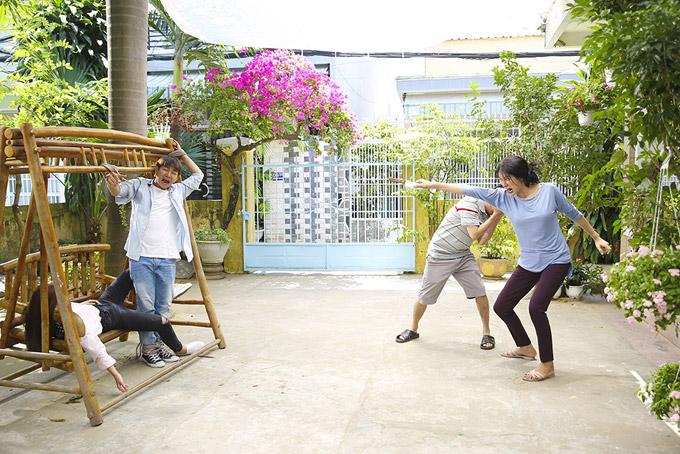 Hoài Lâm sợ chết khiếp trước mẹ vợ Trang Trần trong phim mới - 7