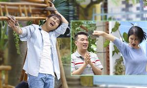 Hoài Lâm sợ 'chết khiếp' trước 'mẹ vợ' Trang Trần trong phim mới
