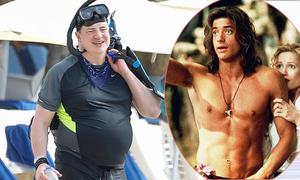 Ngôi sao phim 'Xác ướp Ai Cập' không thể nhận ra với bụng mỡ vượt mặt