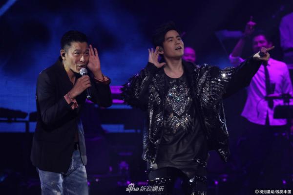 Hai nam ca sĩ hát lại hai bản hit đình đámtrong sự nghiệp âm nhạc của Lưu Đức Hoa là Vong tình thủy và Lãng tử tâm thanh.