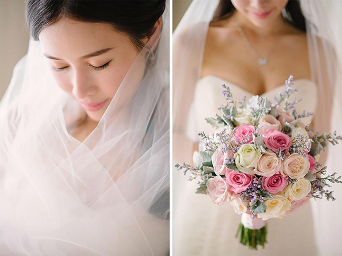 Dành cho các cô dâu tương lai, Hongkiu khuyên: Khi bạn lên kế hoạch cho đám cưới của mình, hãy chọn chủ đề mà bạn muốn và gắn bó với nó. Đừng thay đổi vì bạn vừa thấy một bức ảnh cưới khiến bạn thích thú hoặc chỉ bởi vì bạn muốn theo đuổi màu sắc đang mốt.Khi làm việc với người tổ chức đám cưới, tất cả đều phải qua email. Nếu bạn không quyết định về chi tiết, người lập kế hoạch sẽ chẳng biết phải làm gì.