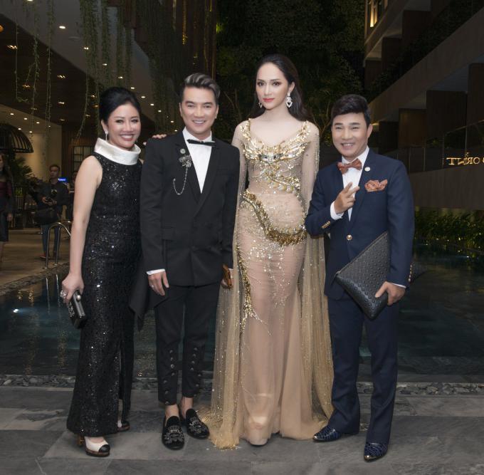 Hoa hậu Hương Giang hội ngộ Kim Lý - Hồ Ngọc Hà ở Đà Nẵng - 5