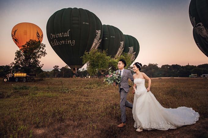 Một ngày, Trang rủ Kiên đi chụp ảnh vì cô thích những bức ảnh do anh chụp được đăng trên Facebook. Đó là lần đầu tiên Thu Trang và Trung Kiên đi chơi với nhau.