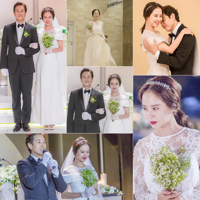 10 chiếc váy cưới hàng hiệu được sao Hàn lăng xê trên phim - 2