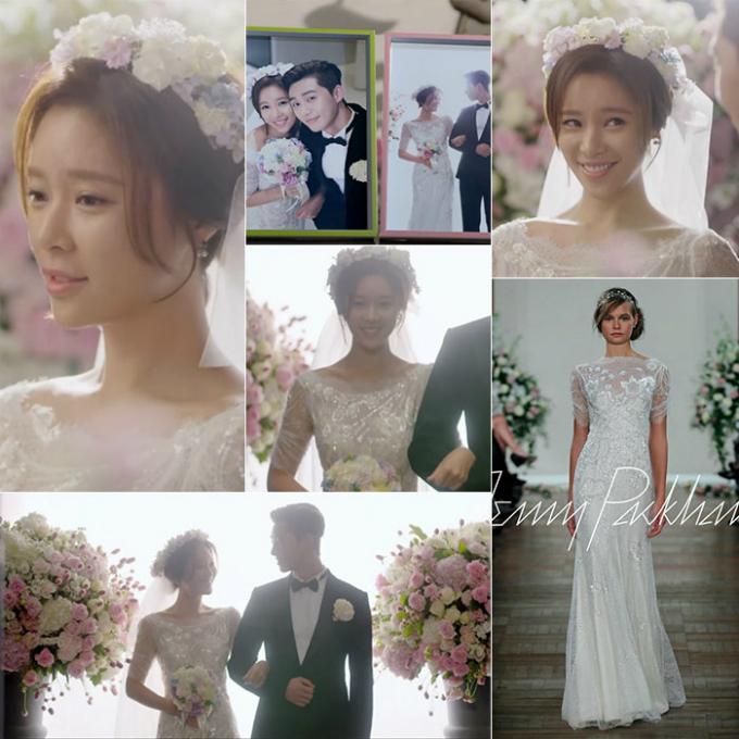 10 chiếc váy cưới hàng hiệu được sao Hàn lăng xê trên phim - 6