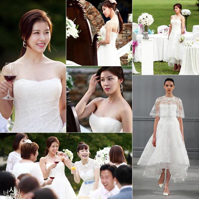 10 chiếc váy cưới hàng hiệu được sao Hàn lăng xê trên phim - 7