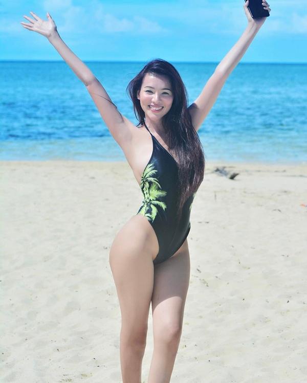 Sunshine Guimary, 24 tuổi, mang trong mình ba dòng máu Trung Quốc, Philippines, Tây Ban Nha.
