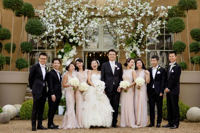 Tiệc cưới Gatsby của cặp hàng xóm trúng tiếng sét ái tình sau 10 năm gặp lại - 11