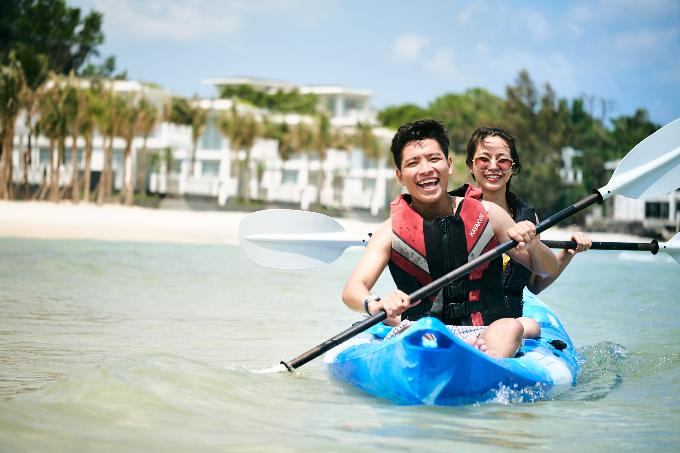 Premier Village Phu Quoc Resort có không gian biệt thự lãng mạn dành cho các đôi lứa.