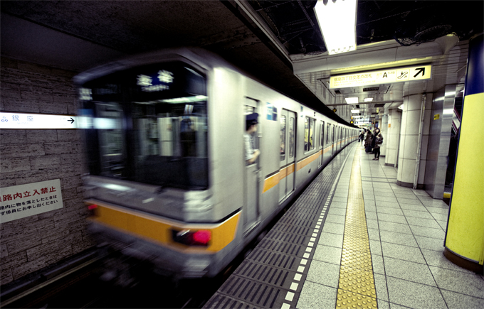 Hệ thống tàu điện ngầm tại Tokyo đã có trên 90 năm tuổi.