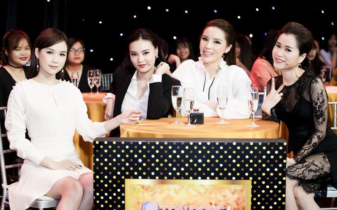 Kỳ Duyên hội ngộ diễn viên Sam, Lan Ngọc và Lâm Vĩ Dạ.