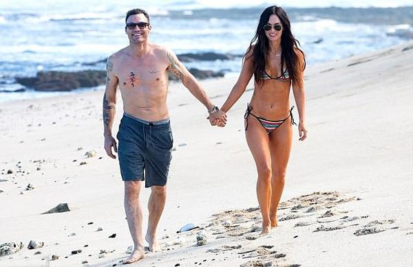 Mỗi năm, Megan và nam diễn viên Brian Austin Green đều trở lại đây tận hưởng kỳ nghỉ lãng mạn hâm nóng tình yêu.