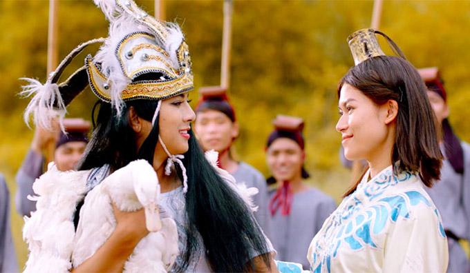 Hoài Lâm xinh đẹp khi hóa thân thành nàng Mị Châu - 4
