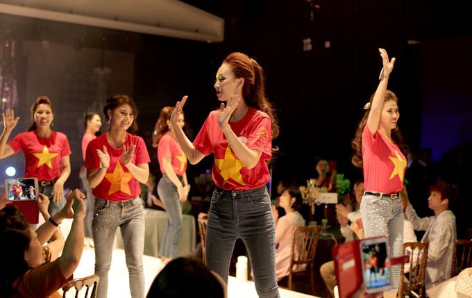 Tiên Cookie và thí sinh nhảy flashmob mở màn chung kết Queen of the spa - ảnh 6
