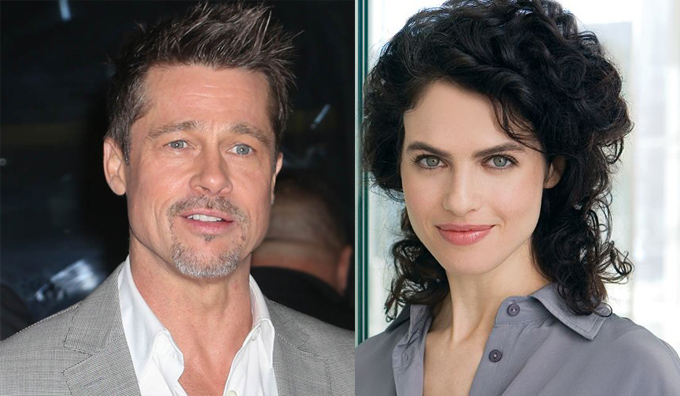 Brad Pitt và Neri Oxman.