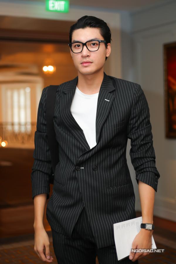 Người mẫu Quang Đại cũng là khách mời trong sự kiện ra mắt sưu tập nước hoa mới.