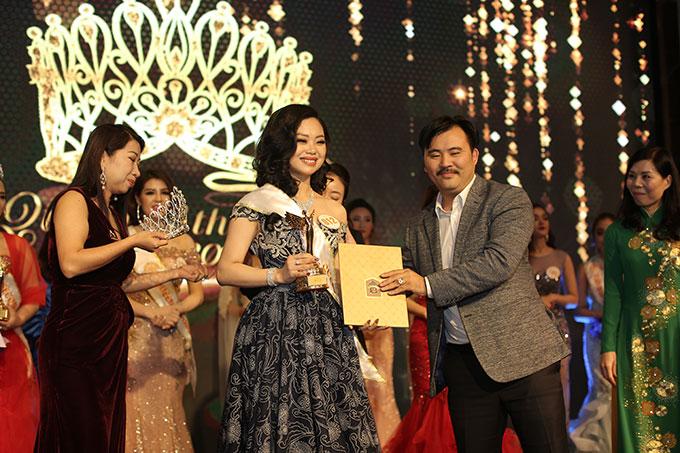 Phạm Thị Huyền Trang đăng quang Nữ hoàng ngành làm đẹp - ảnh 2