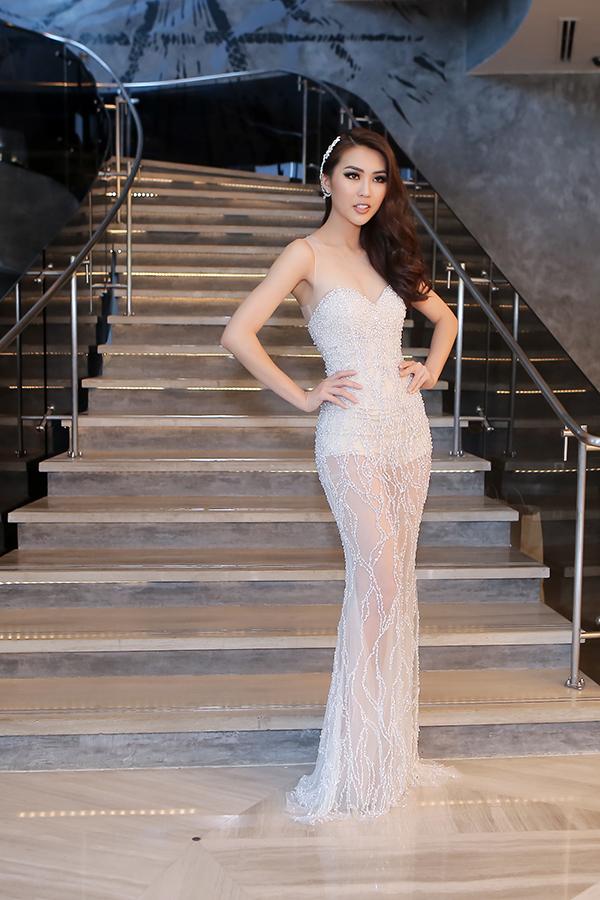Hoa hậu Sắc đẹp châu Á 2017 Tường Linh.
