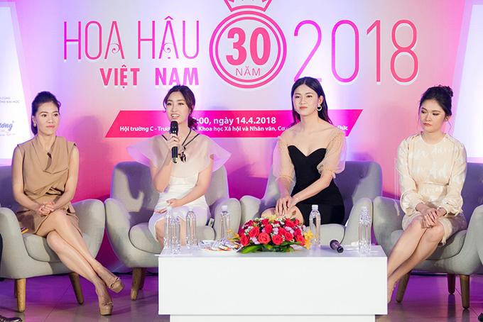 Đỗ Mỹ Linh, Thanh Tú, Thuỳ Dung bắt đầu hành trình tìm Hoa hậu Việt Nam 2018 - 6