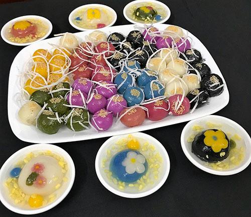 Công thức bánh trôi ngũ sắc đơn giản cho ngày Tết Hàn thực - ảnh 1