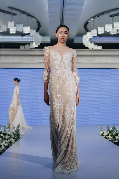 Váy cưới xuân hè 2019 của nhà thiết kế Trương Thanh Hải - 5