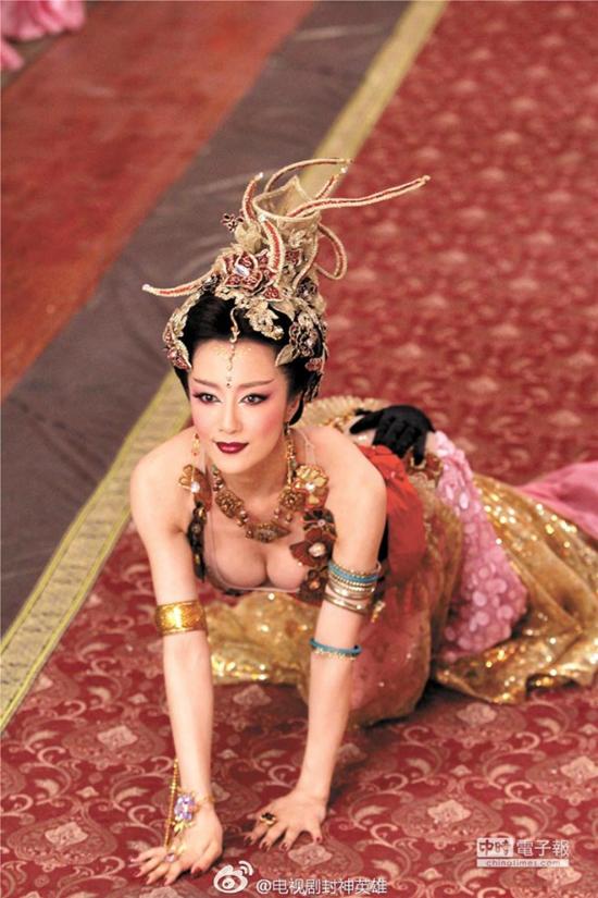 Nữ diễn viên được mệnh danh là nàng Đát Kỷ quyến rũ nhất màn ảnh.
