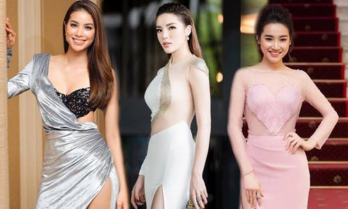 Đầu mùa hè, mỹ nhân Việt lăng-xê váy xẻ cao 'bất tận'