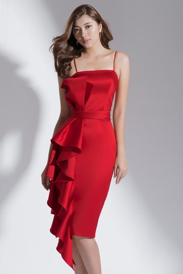 Xây dựng vẻ đẹp tiểu thư với váy đi tiệc dáng ngắn - 2