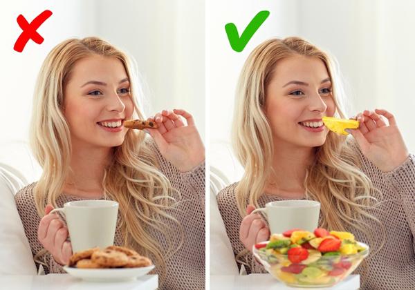 Chọn đồ ăn vặt lành mạnh