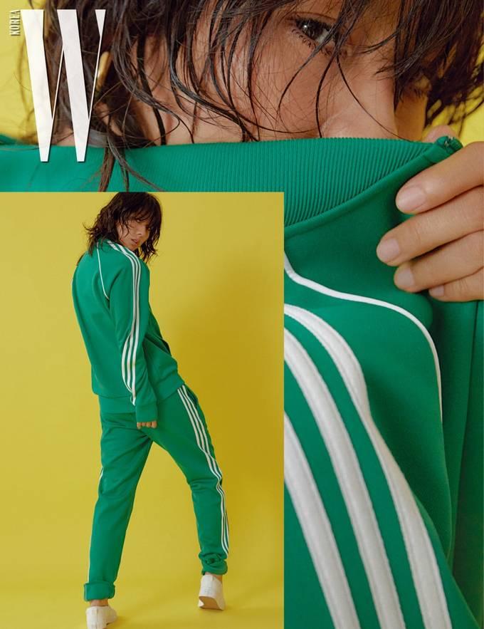 Lee Hyori khoe hình thể trong các set đồ thể thao