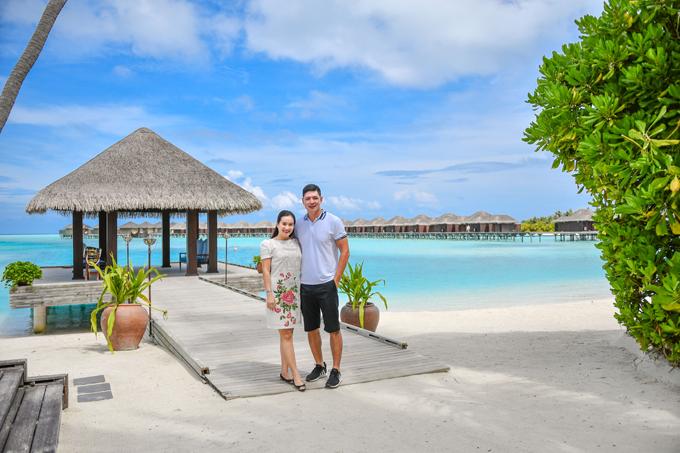 Bình Minh - Anh Thơ chia sẻ kinh nghiệm kỳ nghỉ trong mơ ở Maldives - 2